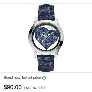 Guess U0113L8 watch (purple)